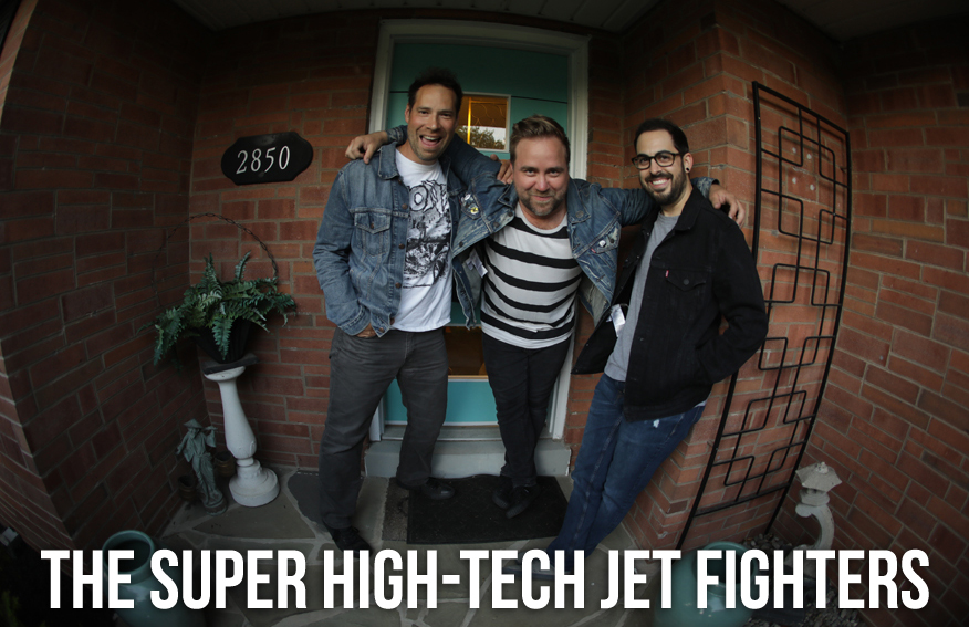 The Super High-Tech Jet Fighters